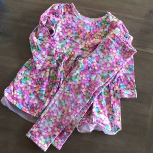 Children's Place dress and leggings